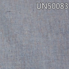 "UN50083  55%linen 45%cotton plain yarn-dyed fabric 54/55"" 180g/m2"