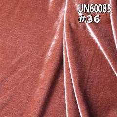 "UN60085  100%polyester  velour-like cordury 276g/m2  61/62"""