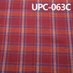 "UPC-063C  Cotton yarn-dyed fabric  242g / m2 43/44 """