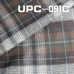 "UPC-091C 100% Cotton Yarn Dyed Check  44"" 134g/m2"
