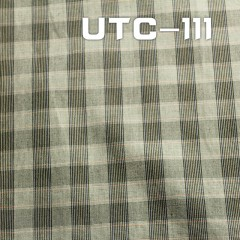 UTC-111 T/C yarn dyed check fabric  57/58""