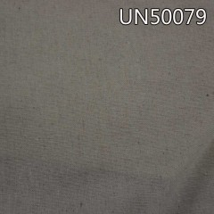 "UN50079  55%linen 45%cotton plain dyed fabric 54/55""  208g/m2"