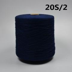 20/2sCotton reactive dyeing yarn 20 / 2s ring spinning (green | blue | dark gree