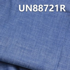 "UN88721R 100% Cotton Slub Chambray Denim 3.83oz  57/58"""