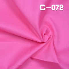 C-072 100%cotton poplin dyed Fabric 68*68/30*30 110g/m2 43/44""