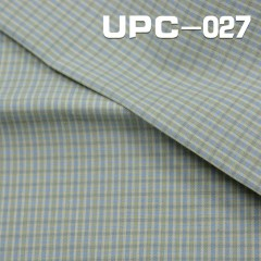 UPC-027 100% Cotton yarn-dyed check fabric 130g/m2  58""