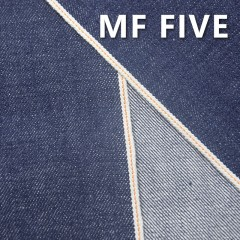 "MF FIVE 100% Cotton Slub Selvedge Denim  32/33"" 16.03OZ"