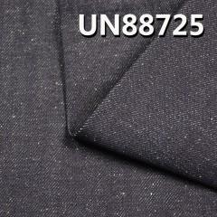 "UN88725 100% Cotton Slub Fill Pearls yarn Indigo Blue Denim Twill 57/58"" 11.66oz"
