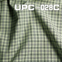 "UPC-028C  100% Cotton Yarn Dyed Fabric 57/58"" 128g/m2"