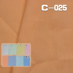 "C-025  100% Cotton Dyed Fabric 47/48""  84g/m²"