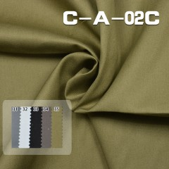 C-A-02C 100%Cotton Dyed Twill Fabric  150g/m2 57/58""