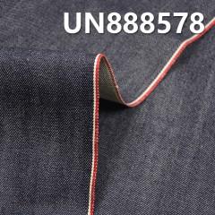 """UN888578 100% Cotton Dark Blue Selvedge Denim Twill 31/32"""" 14oz"""