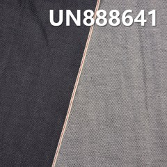 "UN888641 1%Spandex 99%Cotton Dark Blue Selvedge Denim Twill 32/33"" 10oz"