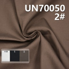 "UN70050 98% Cotton 2% Spandex Dyed Canvas  Dyed Fabric  44/46""140g/m2"