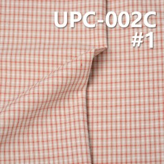 "UPC-002C 100%Cotton Yarn Dyed Fabric   57/58"" 123g/m2"