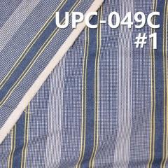 "UPC-049C  100% Cotton Yarn Dyed  57/58"" 207g/m2"