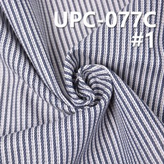 "UPC-077C 100% Cotton Yarn Dyed Stripe  57/58"" 183g/m2"