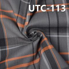 "UTC-113  Cotton Spandex Yarn Dyed Fabric Twill 180G/M2  48/50"""