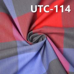 "UTC-114 Cotton Spandex Yarn Dyed Fabric Twill 180g/m2  48/50"""