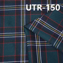 UTR-150 T/C Yarn Dyed Check Fabric  223g/m2  57/58""