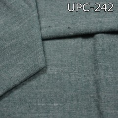 "UPC-242 100%cotton yarn-dyed single brushing chambray 57/58"" 140g/m2"
