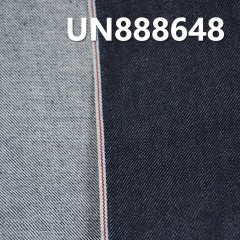 "UN888648 99% Cotton 1% Spandex Dark Blue Selvedge Denim Twill 30/31""  11oz"