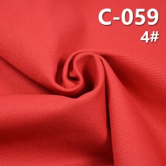 C-059 100%cotton canvas Dyed Fabric 46*28/10/2*10/2 335g/m2 43/44""