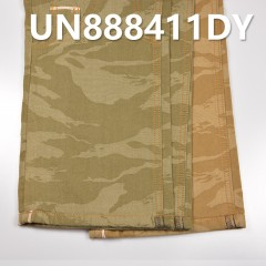 "UN888411DY Cotton dyeing jacquard camouflage denim 32/33"" 8oz"