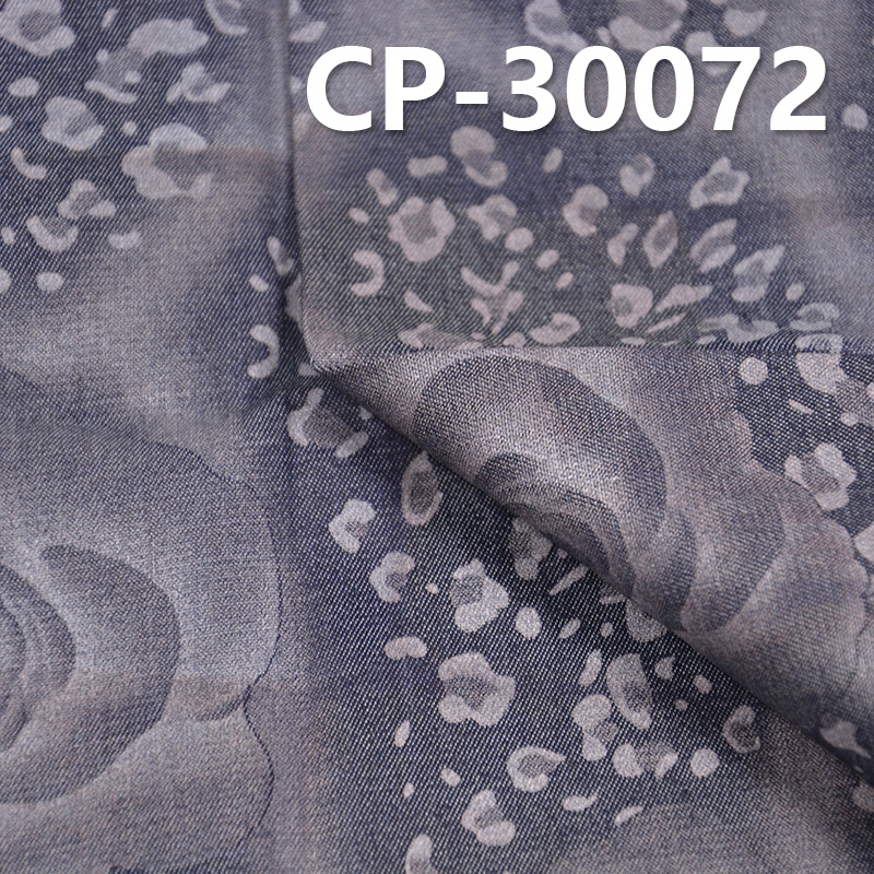"""CP-30072 cotton combed denim printed Caipen rose cloth 56/58"""" 144g/m2"""