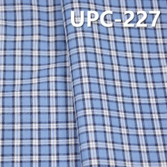"UPC-227  100%Cotton Yarn Dyed Check Fabric 57/58"" 110g/m2"