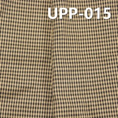 UPP-015 100%Polyester Yarn Dyed Check Fabric 130g/m2 57/58""