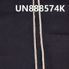 "UN888574K 100% Cotton Slub Yarn Dyed Selvedge Denim Twill 33/34""  14.3oz"