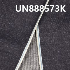 "UN888573K 100% Cotton Dark Blue Selvedge Denim Twill 34/35"" 14.3oz(Light blue edge)"