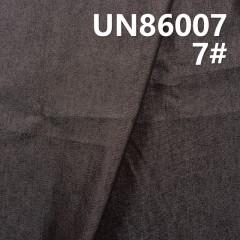 "UN86007 55%Cotton 45%Polyeater Denim Twill 59/60"" 10oz (Black #7)"
