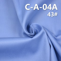 C-A-04A 100%Cotton Dyed Twill  Anti-wrinkle Finished 208g/m2 57/58""
