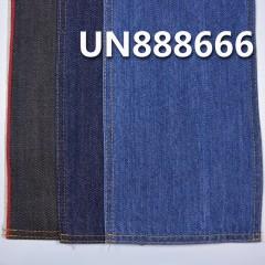 """UN888666 100% Cotton Blue Fill Colour Yarn Selvedge Denim Twill 34/35"""" 11.5oz"""