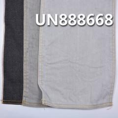 "UN888668 99%Cotton 1%Spandex Black Selvedge Denim  ""Z"" Twill  32/33""  10.5oz"