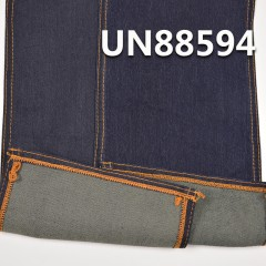 "UN88594 Dyed Polyester/Cotton Spendex Rope Dyed Denim Twill 57/58"" 10oz (3# blue"
