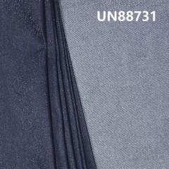 UN88731 81.8% Cotton 13.1% Polyester 1% Spandex 4.1% Coating Slub Denim Twill  1