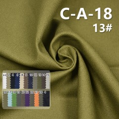 C-A-18 100%Cotton Double Dobby Dyed Fabric  322G/M2 55/56""
