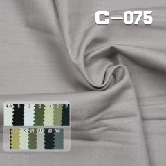 "C-075  100%cotton Dyed Fabric slub twill  57/58"" 240g/m²"