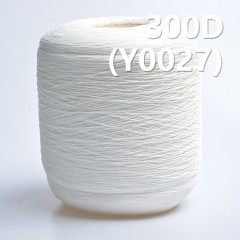 Y0027 300D Cotton Spandex Core Yarn/reactive dyeing yarn(white)