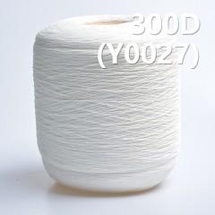 Y0027 300D Cotton Spandex Core Yarn/reactive dyeing yarn(white)