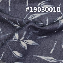 "100%Cotton Print denim Fabric  4.5OZ 58.5"" #19030010"