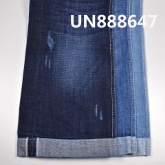 "UN888647 100% Cotton Dark Blue Selvedge Denim Twill  32/33"" 15oz"