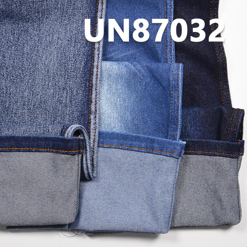 "UN87032 7.8oz 62/63"" 57%Cotton 38%Nylon 5%Spandex Ice silk  twill Knitted denim"