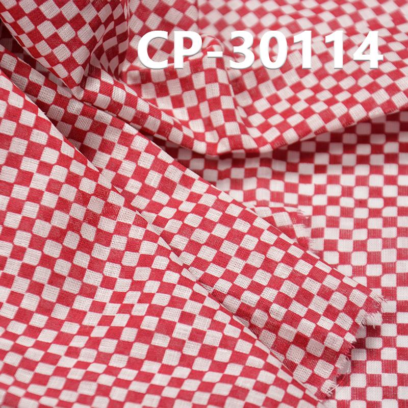 "55%Linen 45%Cotton printing fabric 90g/m2 53/54"" CP-30114"