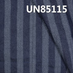 "UN85115 65%Cotton 35%Polyester 3/1 ""z""  Twill Dobby  Stripes Denim 9.5oz  59/60"""