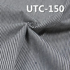 "UTC-150 65%Cotton 35%Polyester 2/1 ""z"" Twill yarn-dyed Stripes Fabric 310g/m2 58"