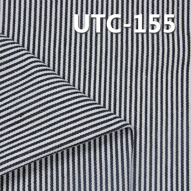 "UTC-155 65%Cotton 35%Polyester 2/1 ""z""  Twill yarn-dyed  Stripes Fabric 310g/m2 58/59"""